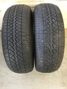 2 - 205 70R 14 MOTOMASTER LE LUXURY EDITION ALL SEASON TIRES $30