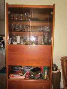 Moving Sale-Teak Wall Unit very good condition,.