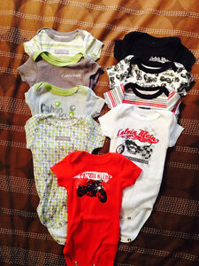 Boys 0-3 mos clothing 45 items