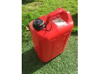 22 litre fuel tank container