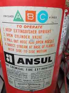 Antique Dry Chemical Fire Extinguisher London Ontario image 2