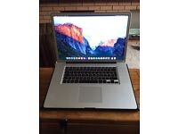 APPLE MACBOOK PRO - 2010 Model - great condition - huge memory!