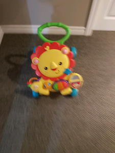 Fisher Price Lion Walking Toy