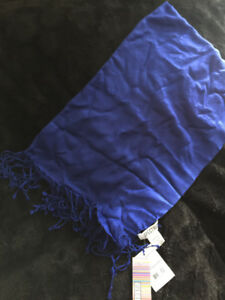 Royal Blue Pashmina ***NEW TAGS ON***