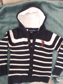 US.POLO.ASSN kids jumper size 4 years old