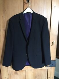 Men's black jacket 40s