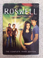 ROSWELL  COMPLETE SEASON 3  THE FINAL CHAPTER DVD