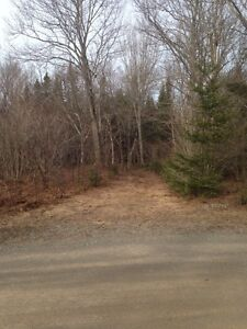 Prime building lot 5 mins from highway and 15mins from town.
