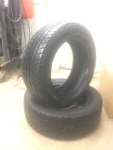 195/60 R15 Set of 2 Snow tires