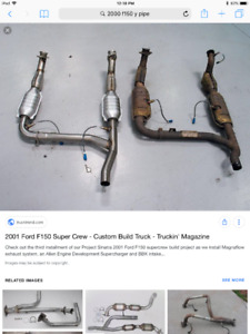 2000 Ford F-150,expedition y pipe 5.4l