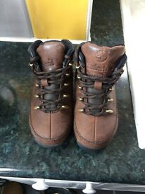 Toddler size 8 timberland boots