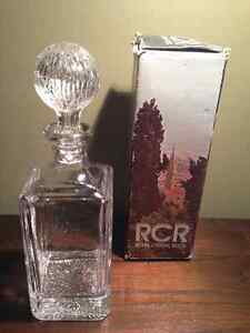 Retro Royal Crystal Rock Decanter New with Box - 50 OBO