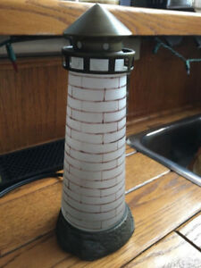 Lighthouse Table Lamp Nautical
