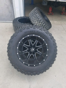 20 inch Fuel rims with 36inch MT tires