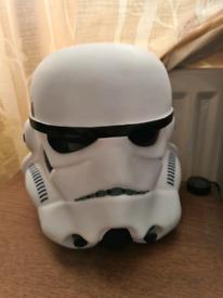 Custom stormtrooper lamp