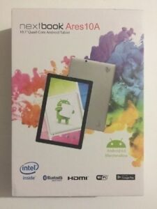"""New Open Box Nextbook Ares 10A 10"""" 32GB Android Tablet"""