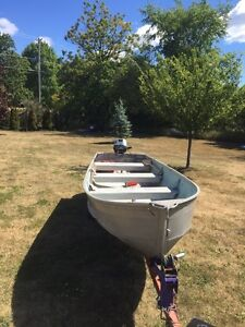 14 foot boat package