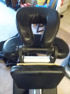 Black Massage Chair with Travel Case