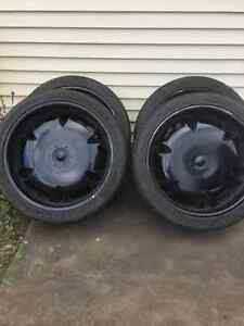 24 inch tires and rims