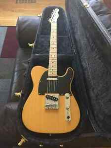 Fender FSR Deluxe Telecaster with case.
