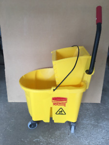 35 Qt.Mop bucket with Wringer