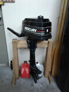 Mercury 5HP Motor for Small Watercraft