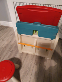 Kids play desk