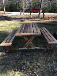 Not Your Usual PICNIC Table!