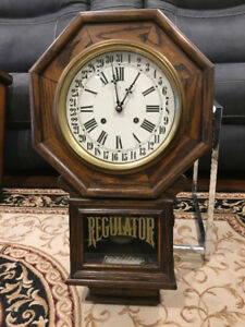Wall Clock - Pendulum Spring Wind