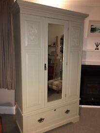 Gorgeous wood wardrobe