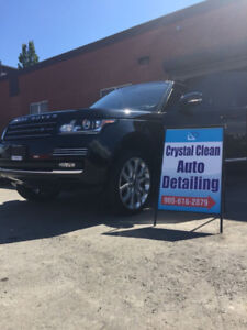 Crystal Clean Auto Detailing 289-828-5175