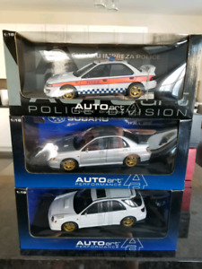 1:18 Diecast Autoart Subaru Impreza WRX STI New Age Police