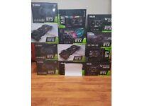 Nvidia Geforce RTX3090 24GB Graphics Cards