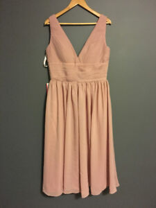 Reduced Two Dusty Rose Bridesmaid Dresses NWT