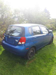 Chevrolet aveo 5sp. parting out