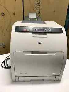 HP Color LaserJet 3600n INCLUDING ink cartridges London Ontario image 1