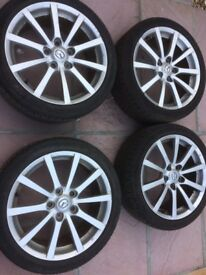 Mazda MX5 Wheels and Tyres