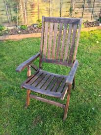 7 x Royal Kensington teak chairs