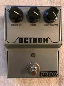 Foxrox Octron Octave Pedal
