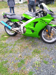 2002 ZX6 excellent condition