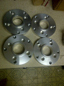 4x100 vw to 5x130 porsche hub centric adapters