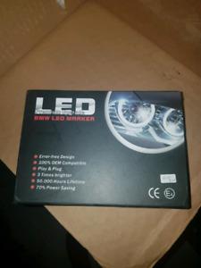 BMW LED halo lights