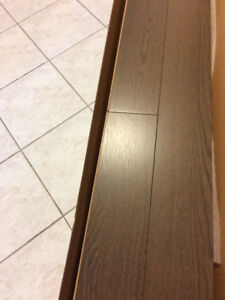 Price Reduced! Beautiful Solid oak hardwood flooring for sale