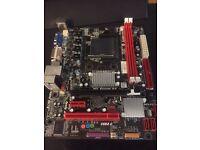 AM3 Motherboard biostat A960d+