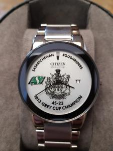 2013 Saskatchewan Roughriders Grey Cup Championship Watch