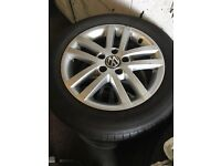 Vw golf wheels for sale