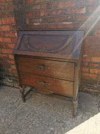 SOLD Vintage writing bureau
