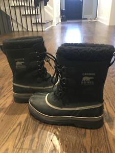 Men's Sorel Caribou Winter Boots-Size 11