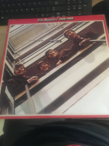 Vintage The Beatles / 1962-1966 Red Album  LP Vinyl Record