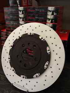 REDUCED - Audi RS4 Front Brake Discs Brembo